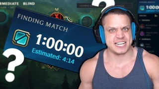⏳ Tyler1: The Longest Queue Time Ever