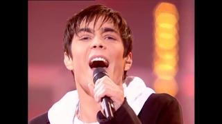 Gregory Lemarchal (Star Ac 4)  Prime 15. L'hymne à l'amour. Полуфинал мальчиков.