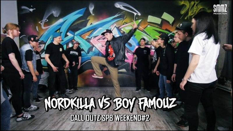 NORDKILLA vs BOY FAMOUZ || CALLOUTZ SPB WEEKEND2