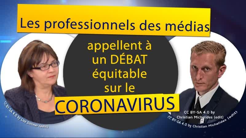 Etresouverain.com partage Kla.TV - Médias Un débat équitable sur le coronavirus !