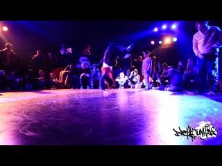   <<  Breakjunkies 2013 - Justen & Menno (Hustle Kidz) vs Gassama & Romeo (Def Dogz)   <<