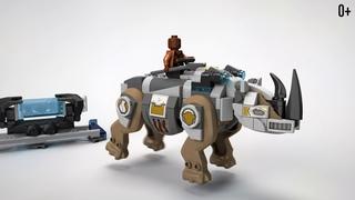 Набор LEGO SUPER HEROES 76099: Поединок с Носорогом