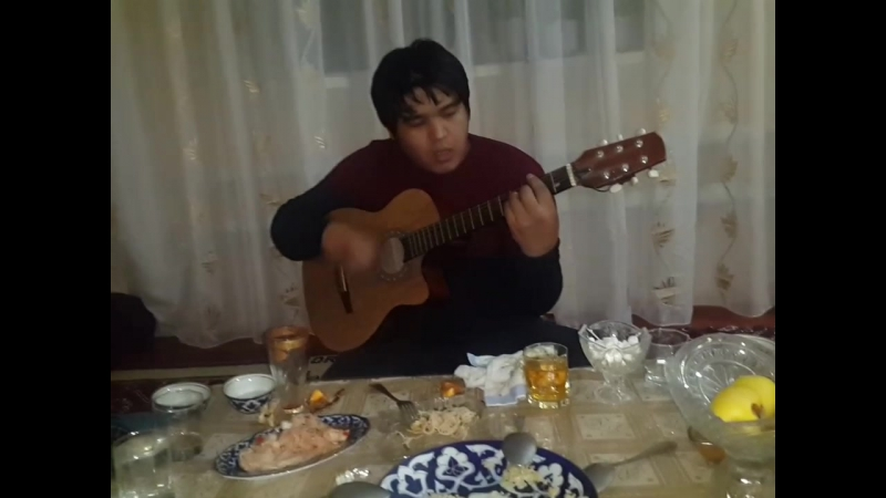 Asqar Erejepov_ Ashiq aspan qosiğin ayirim sebeblermen kõre taği birret aytti ãlbette janli hawazda gitarda