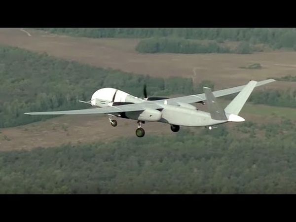 New Russian heavy drone Altius-U takes off for the first time