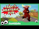 Fabio's Meatball Run Moose Tube GoNoodle