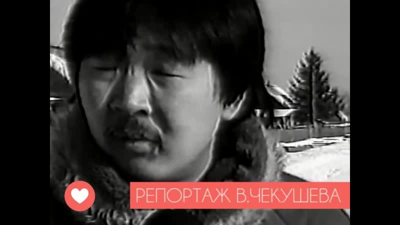 РЕПОРТАЖ ВАЛЕРИЯ ВСЕВОЛОДОВИЧА ЧЕКУШЕВА ПЕРВАЯ ПРОГРАММА ТВ СССР 1989