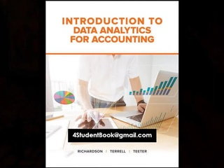 Test Bank for Introduction to Data Analytics for Accounting 1st Edition