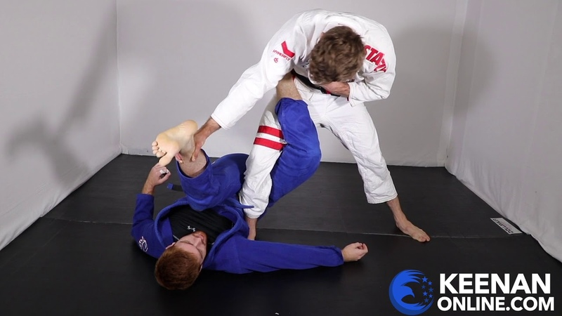 Learn to Pass the 50 50 Guard in Under 4 Minutes with Keenan Cornelius