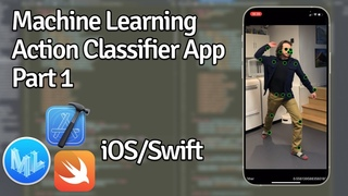 Building An Action Classifier Swift/iOS App Using Machine Learning - Part 1 - Creating A Classifier