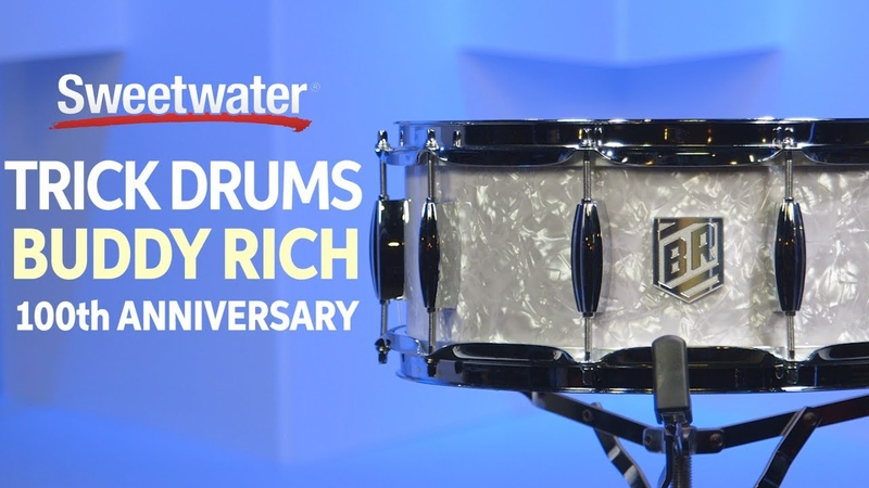 Trick Drums Buddy Rich 100th Anniversary Snare Drum Review