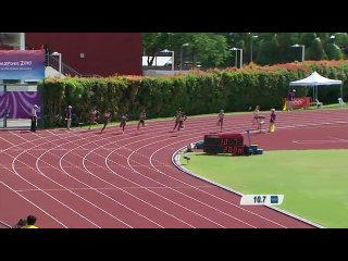Athletics women's 200m final singapore 2010 youth games