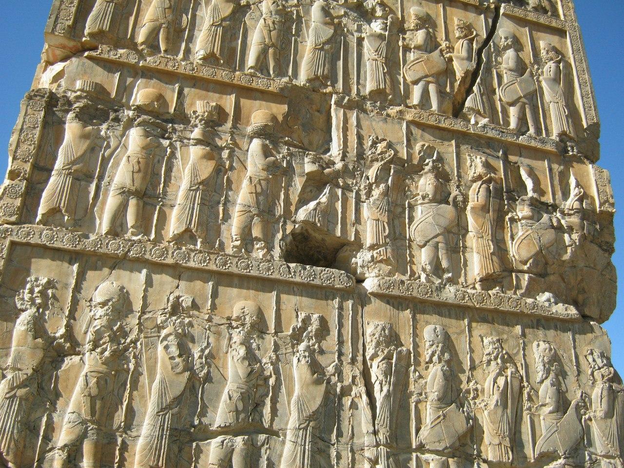 рельеф в Персеполисе.