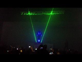 Laser man show Трансмиссия Санкт Петербург