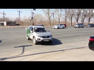 Автопробег KIA АвтоСтар Азия 14 04 2012