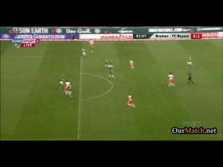 """""""Вердер"""" 0 - 2 """"Бавария"""" [HD] (0-1, гол Густаво)"""