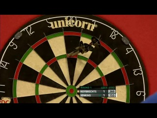Kim Huybrechts vs Terry Jenkins (Players Championship Finals 2013 / Round 1)