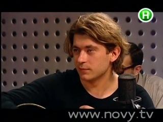 """Би-2 в программе """"Живий звук"""" (Новий канал), 2000 год"""