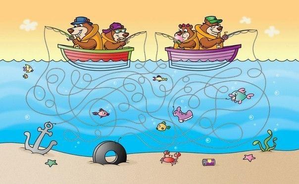 Картинки найди отличия про море