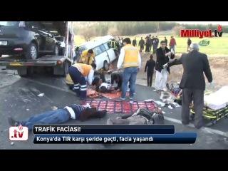 Türkiyədə avtobus aşıb 9 ölü xeyli yaralı var