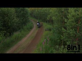 Заезд по мототрассе на Сузуки Джиксер, стант, дрифт / StuntFreaksTeam - Juha Ruokolainen Suzuki Gsx-R ON DIRT