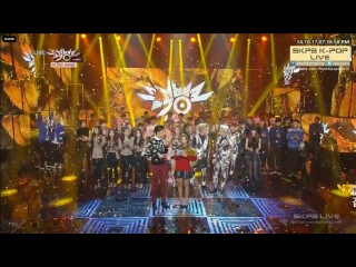 141017 Today Winner - Kim Dong Ryul - No.1 @ Music Bank