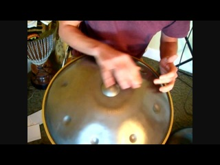 Handpan How To - Alternating 16 count