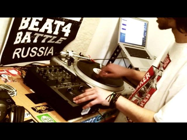 WSQ N Tone Chinmachine Scratching over Beat Battle Looper 1