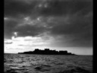 Заброшеный город на острове Ганкаджима в Тихом океане