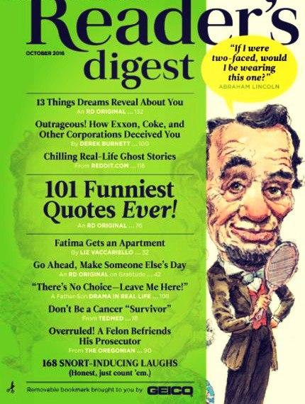 Reader's Digest USA-October-2016