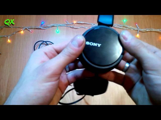 Наушники SONY mdr-ZX110 обзор / Sony MDR ZX110 Review