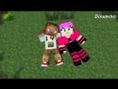 Minecraft Мультики - Майнкрафт Любовь Диллерон и Миникотик Майнкрафт Анимация