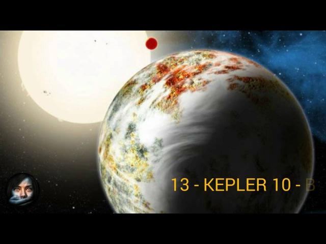 20 Exoplanetas Más Intrigantes Del Universo Conocidos INCREÍBLE