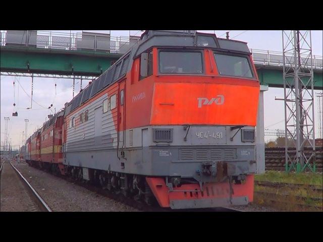 Последний путь Россошанских электровозов ЧС4Т (ЧС4Т-483/488/556/491)