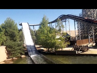 PARQUE WARNER MADRID 2012 CATARATAS SALVAJES