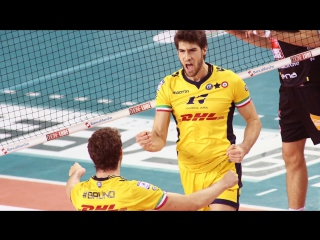 Luca vettori -  top 10 best volleyball actions - hd