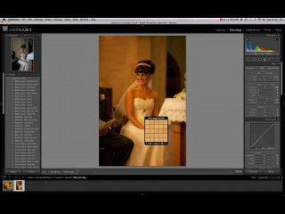 White Balance in Lightroom 3 tutorial for wedding dress. Онлайн-школа ретуши и обработки фотографий Highlights