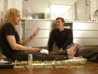 Madonna and Luciano Huck FULL interview for Brazilian TV