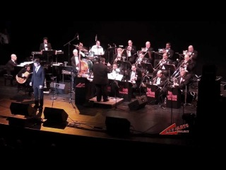 Elya Vasiliev with the Red Bank Jazz Orchestra