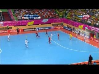 ЧМ-2012. 1/4 финала. Испания - Россия (1 тайм)