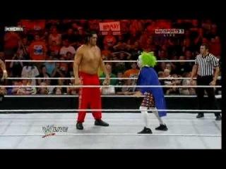 [WM] Vladimir Kozlov,Goldust,Santino & Khali vs  Regal,Ryder,Primo & Doink The Clown