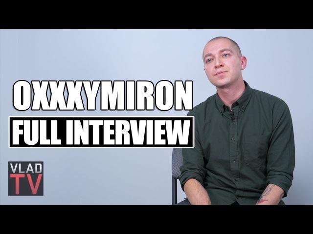 Oxxxymiron - полное часовое интервью для зарубежного канала VladTV (2018 г.) (видео)