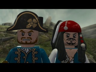 LEGO Pirates of the Caribbean Walkthrough Part 20 - The Fountain of Youth (On Stranger Tides Finale)