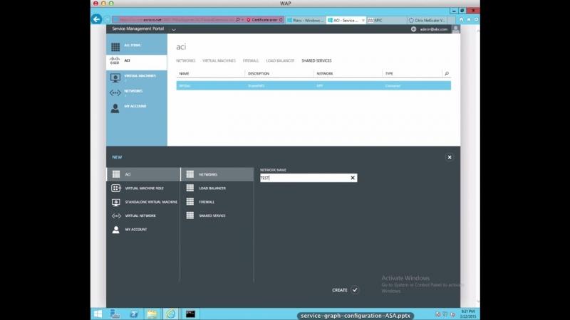 Рішення інтеграції (Cisco ACI-Microsoft Azure)