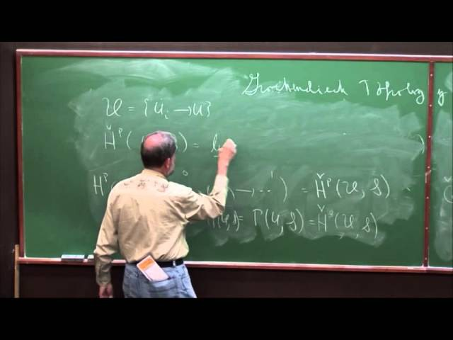Andy Magid, Grothendieck Topology