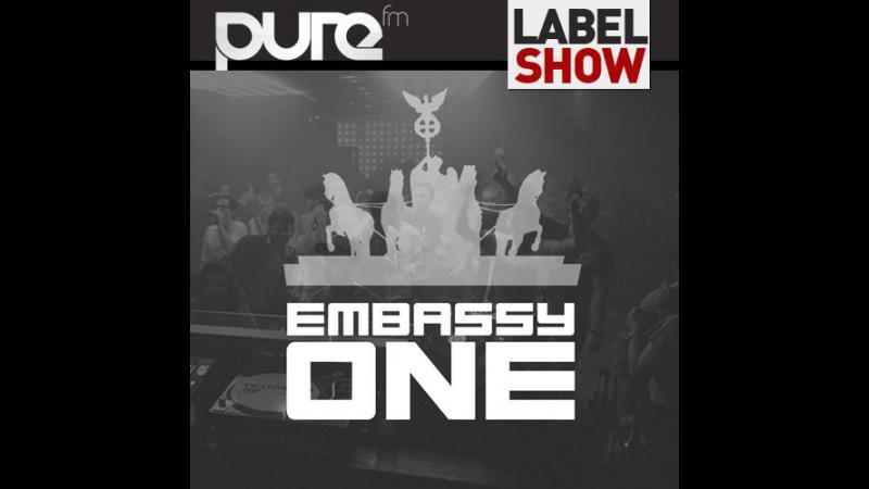 DJ GERALDA Embassy One Radio Show @ Pure FM Berlin Germany