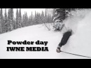 Powder day IWNE MEDIA