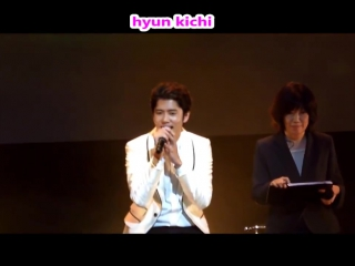 20150913 kim kyu jong to you~our story~ (piano ver.) @ fall in love with kyu in japan