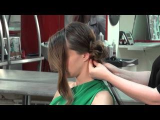 Видеоблог Виктории Литвиненко: элегантный пучок из волос
