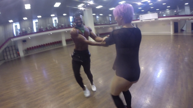 Between classes freestyle with Yordanis Forbes    crazyyy... sorry Anna for the camera😄