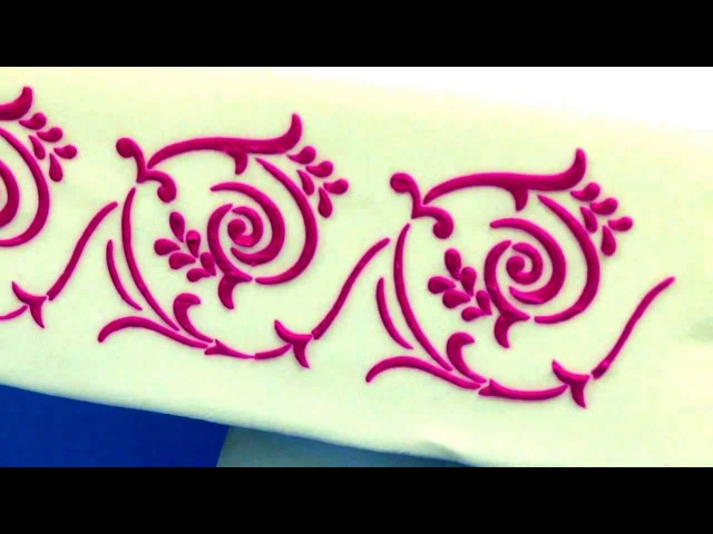 How to Stencil a Cake by Chef Alan Tetreault of Global Sugar Art